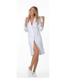 Camice donna Bianco 100% Cotone - Logica