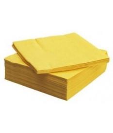 Tovaglioli giallo 40x40
