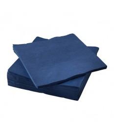 Tovaglioli blu 40x40